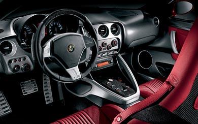 2009 Alfa Romeo 8c Competizione wallpaper thumbnail.