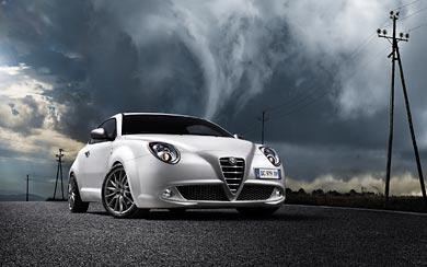 2009 Alfa Romeo MiTo wallpaper thumbnail.