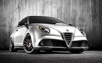 2010 Alfa Romeo MiTo GTA Concept wallpaper thumbnail.