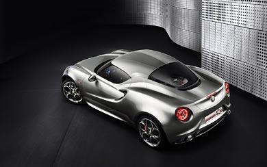 2011 Alfa Romeo 4C Concept wallpaper thumbnail.