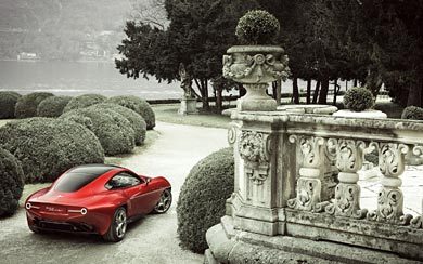 2013 Alfa Romeo Disco Volante Touring wallpaper thumbnail.