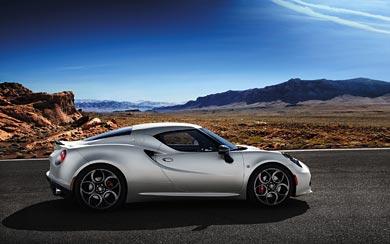 2014 Alfa Romeo 4C wallpaper thumbnail.