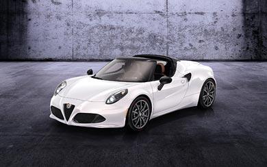 2014 Alfa Romeo 4C Spider Concept wallpaper thumbnail.