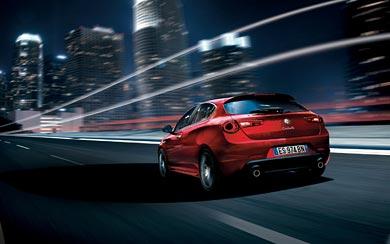 2014 Alfa Romeo Giulietta wallpaper thumbnail.