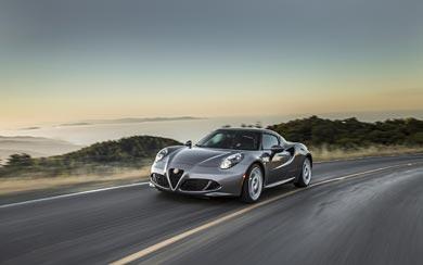 2015 Alfa Romeo 4C wallpaper thumbnail.