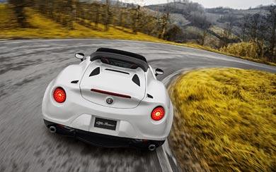 2015 Alfa Romeo 4C Spider wallpaper thumbnail.