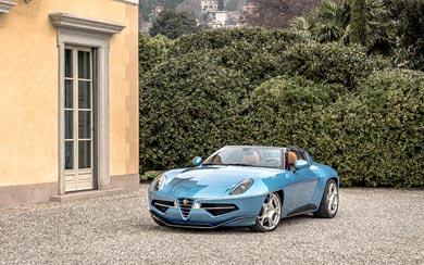2016 Alfa Romeo Disco Volante Spyder Touring wallpaper thumbnail.