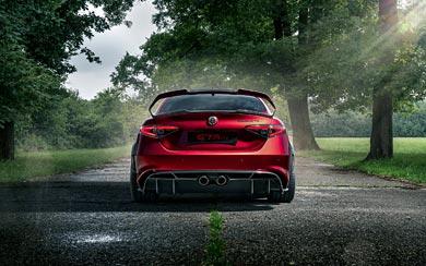 2021 Alfa Romeo Giulia GTA wallpaper thumbnail.