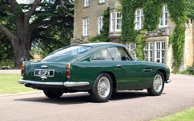 1959 Aston Martin DB4 GT wallpaper thumbnail.