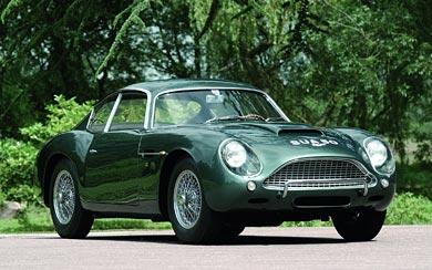 1960 Aston Martin DB4 GT Zagato wallpaper thumbnail.