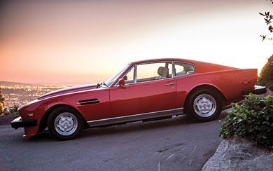 1979 Aston Martin V8 Vantage wallpaper thumbnail.