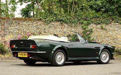 1984 Aston Martin V8 Vantage Volante wallpaper thumbnail.