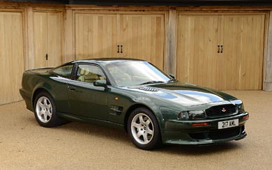 1993 Aston Martin V8 Vantage wallpaper thumbnail.