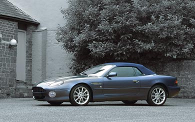 1999 Aston Martin DB7 Vantage Volante wallpaper thumbnail.