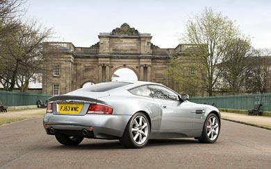 2001 Aston Martin V12 Vanquish wallpaper thumbnail.