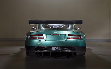 2005 Aston Martin DBR9 wallpaper thumbnail.