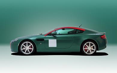 2007 Aston Martin Racing Rally GT wallpaper thumbnail.