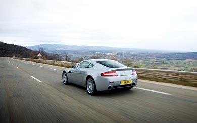 2007 Aston Martin V8 Vantage wallpaper thumbnail.
