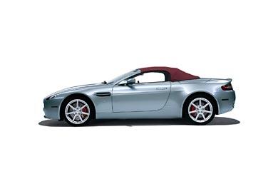 2007 Aston Martin V8 Vantage Roadster wallpaper thumbnail.
