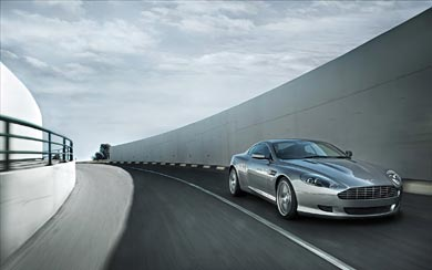 2008 Aston Martin DB9 wallpaper thumbnail.