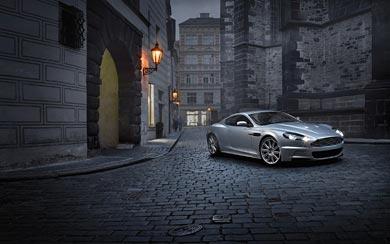 2008 Aston Martin DBS wallpaper thumbnail.