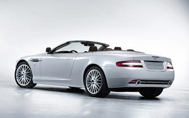 2009 Aston Martin DB9 Volante wallpaper thumbnail.