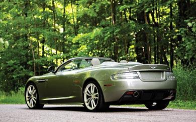 2010 Aston Martin DBS Volante wallpaper thumbnail.