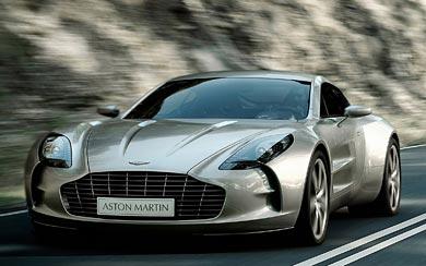 2010 Aston Martin One-77 wallpaper thumbnail.