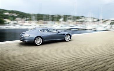2010 Aston Martin Rapide wallpaper thumbnail.