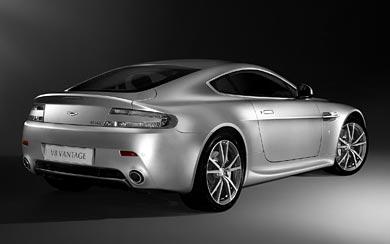 2010 Aston Martin V8 Vantage wallpaper thumbnail.