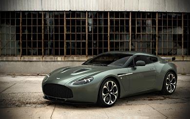 2011 Aston Martin V12 Zagato wallpaper thumbnail.
