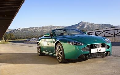 2011 Aston Martin V8 Vantage S wallpaper thumbnail.