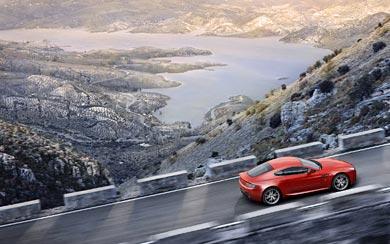 2012 Aston Martin V8 Vantage wallpaper thumbnail.