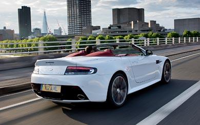 2013 Aston Martin V12 Vantage Roadster wallpaper thumbnail.