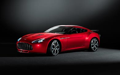 2013 Aston Martin V12 Zagato wallpaper thumbnail.