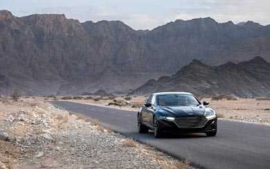 2014 Aston Martin Lagonda Prototype wallpaper thumbnail.