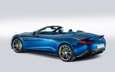 2014 Aston Martin Vanquish Volante wallpaper thumbnail.