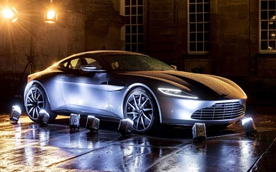 2015 Aston Martin DB10 Spectre wallpaper thumbnail.