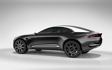 2015 Aston Martin DBX Concept wallpaper thumbnail.