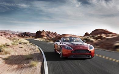 2015 Aston Martin V12 Vantage S Roadster wallpaper thumbnail.