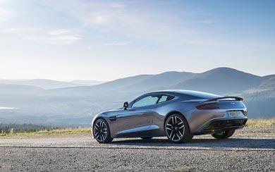 2015 Aston Martin Vanquish wallpaper thumbnail.