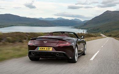2015 Aston Martin Vanquish Volante wallpaper thumbnail.