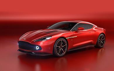 2016 Aston Martin Vanquish Zagato Concept wallpaper thumbnail.