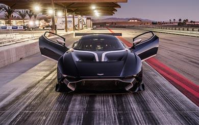 2016 Aston Martin Vulcan wallpaper thumbnail.