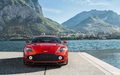 2017 Aston Martin Vanquish Zagato wallpaper thumbnail.