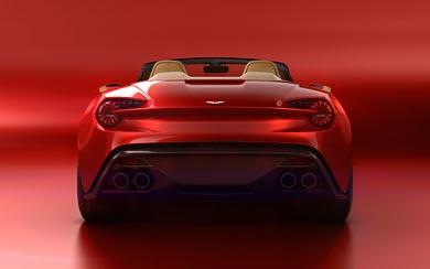 2017 Aston Martin Vanquish Zagato Volante wallpaper thumbnail.