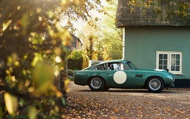 2018 Aston Martin DB4 GT Continuation wallpaper thumbnail.