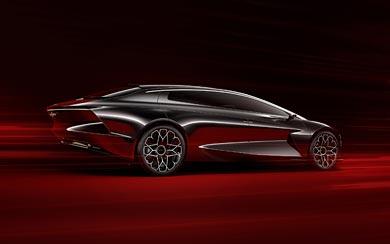 2018 Aston Martin Lagonda Vision Concept wallpaper thumbnail.