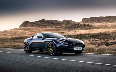 2019 Aston Martin DB11 AMR wallpaper thumbnail.