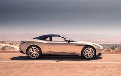 2019 Aston Martin DB11 Volante wallpaper thumbnail.